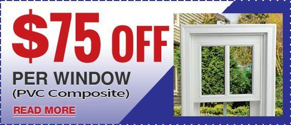 Current Window Special from Maintenance Free Window Company