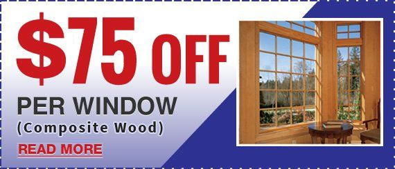 Composite Wood Window Special from Maintenance Free Window Company