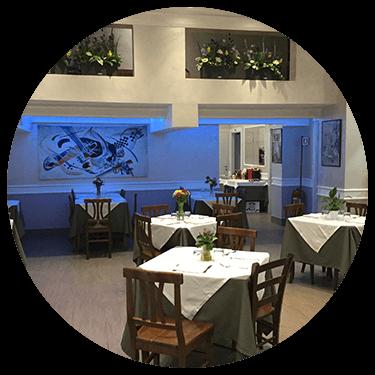 Interno del Ristorante e Pizzeria New Azzurra a Roma