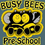 busy bees pre-school logo