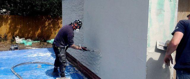 Rendering in the Midlands | acrylic render & Baumit render