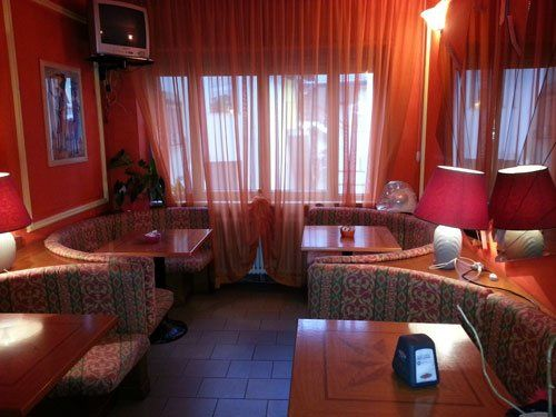 sala d'aspetto dell`hotel