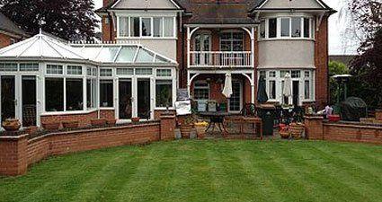 Domestic lawn maintenance