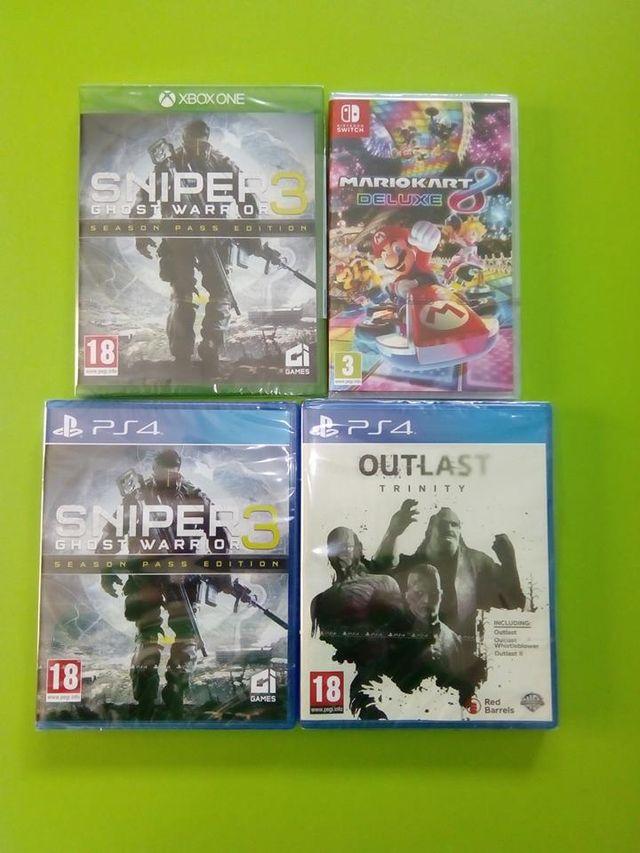 dei giochi per  Xbox one e PS4