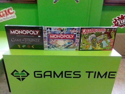 dei giochi di Monopoly e Allegro Chirurgo