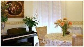 sala con pianoforte