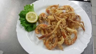 Frittura mista presso Ristorante Pizzeria Alloggio Il Capitano a San Benedetto Po