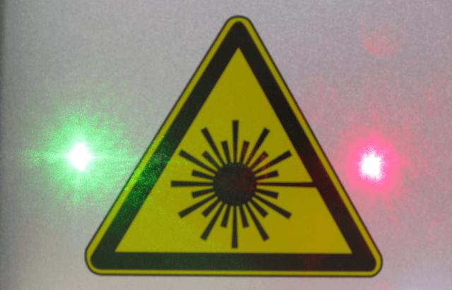 laser safty icon