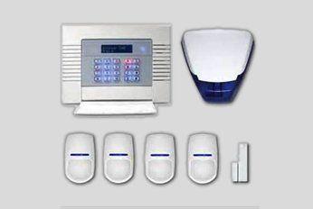 newly installed alarm system