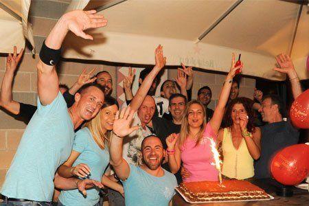 Festa di compleanno al Dema disco bar di Villorbia