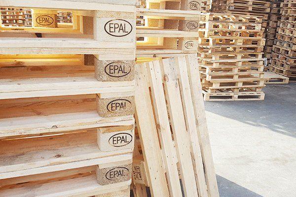Pallets EPAL in legno presso S&C Pallets a Genova