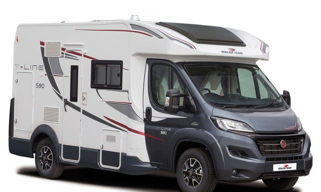 78b4feef69 Automatic Campervan Hire UK   Europe - 4 Berth T Line 590 Luxury ...