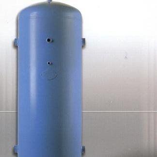 serbatoio di colore blu