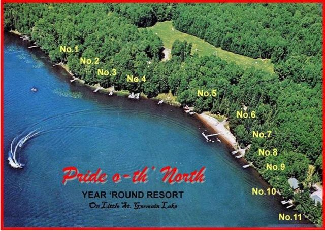 Cottage Amenities - St  Germain, WI - Pride O-th' North Year Round