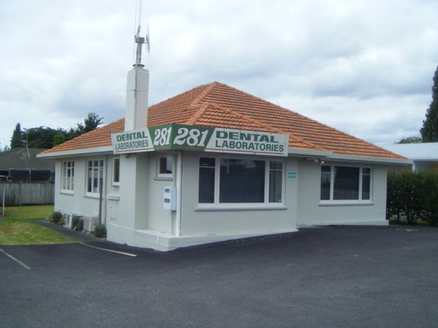 Building for denture services in Tauranga