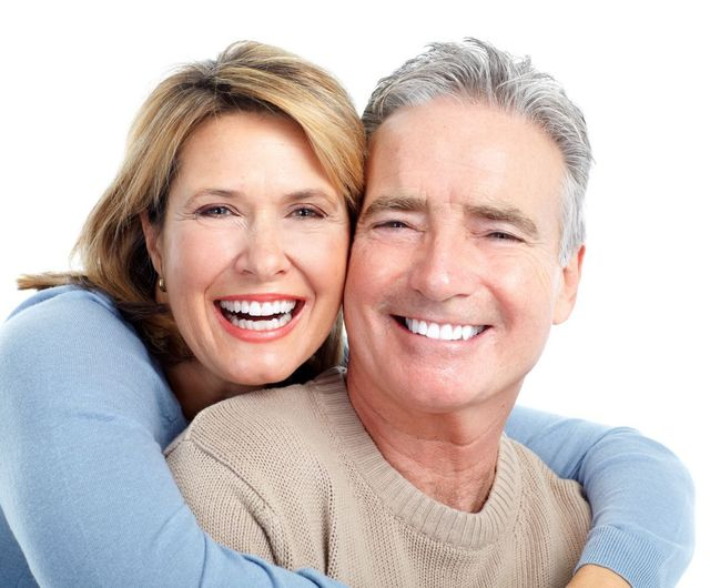 Clients after getting dentures from a professional in Tauranga