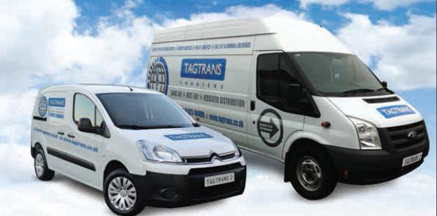 Tag Trans Ltd company vans