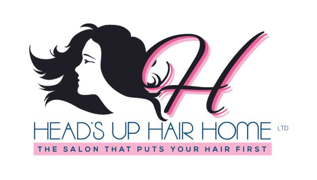 H.U.H.H. (Heads Up Hair Home) Hairdressers logo