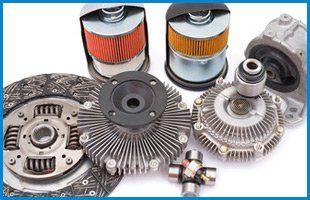 brake discs and air filters