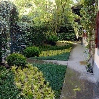 ingresso di un giardino