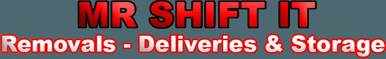 Mr Shift It logo