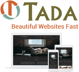 Tada fast web site builder CMS mobile web design