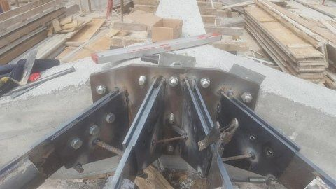 struttura portante in metallo