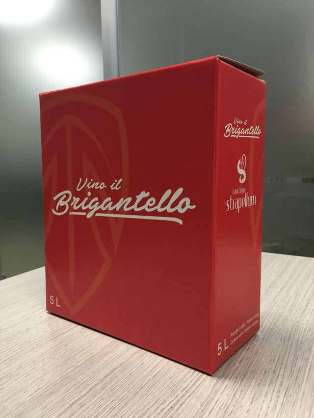 scatola di vino brigantello