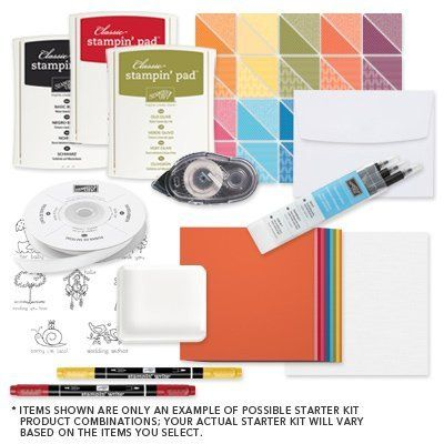 Stampin Up Starter Kit | Join Stampin Up