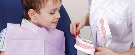 Dental health advice for children