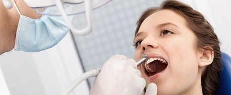 Dental cleaning, filling and crowns