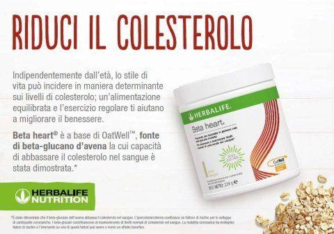 ridurre colesterolo