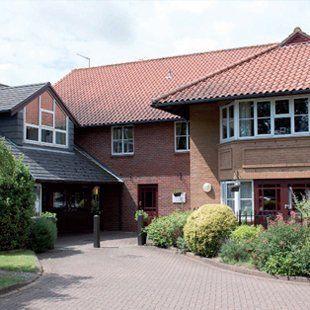 Exterior of care home