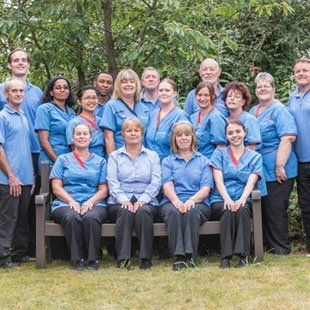 Chantry House caring staff