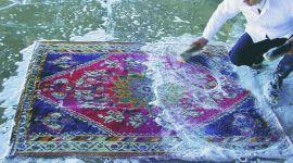 lavaggio manuale tappeti d'epoca