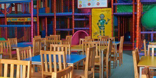children seating area