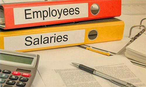 Details on employees and salaries