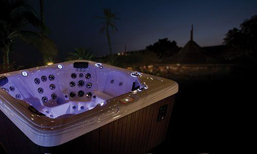 Garden Leisure spas installed in Brompton on Swale