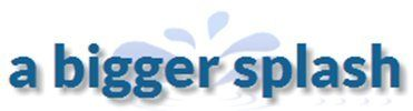 a bigger splash logo