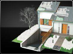 cavi riscaldanti, sistemi antighiaccio per tetti, impianti antighiaccio