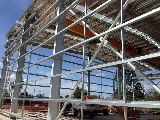 galvanised steel frame brisbane