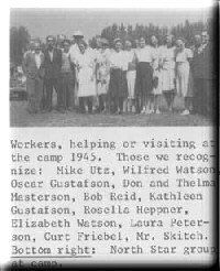 1945 Camp workers photo