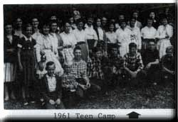 1961 Teen Camp