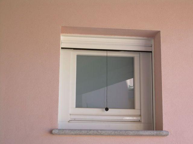 zanzariera vista dall'esterno