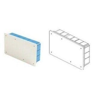 scatola di derivazione con coperchio bianco