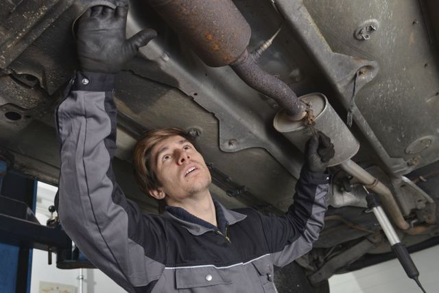 Auto servicing being performed in Anchorage, AK