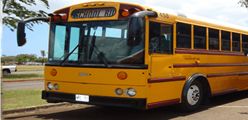 School bus service on Oahu, HI