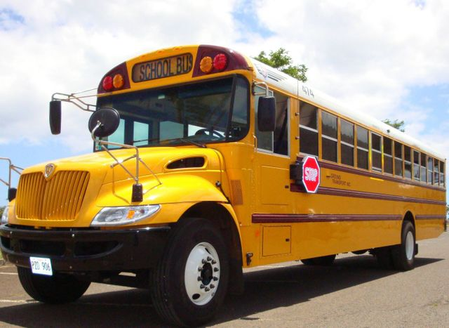 School and non profit organization bus transport on Oahu, HI