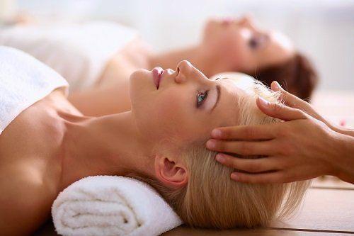 Una seduta di massaggio