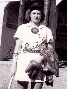 Louise Erickson Sauer - La Crosse Baseball Nominee